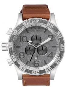 Zegarek Nixon 51-30 Chrono Leather Saddle A124 747