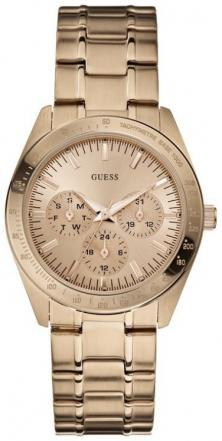 Zegarek Guess Feminine Dress Rose Gold U13623L1