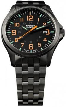 Zegarek Traser P67 Officer Pro GunMetal Black/Orange 107870