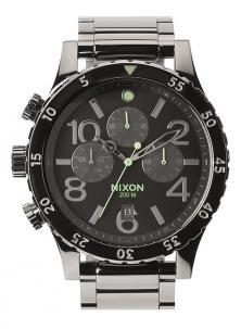 Zegarek Nixon 48-20 Chrono Polished Gunmetal A486 1885