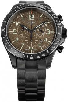 Zegarek P67 Officer Pro Chronograph Khaki Steel 109460