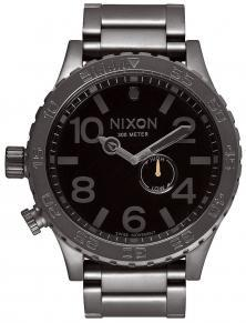 Zegarek Nixon 51-30 Tide All Gunmetal Black A057 680