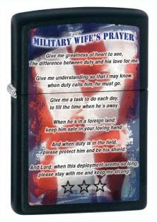 Zapalniczka Zippo Military Wife Prayer 26418