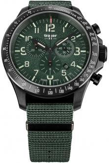 Zegarek P67 Officer Pro Chronograph Khaki Steel 109463