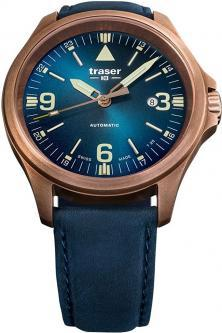 Zegarek Traser P67 Officer Pro Automatic Bronze Blue 108074