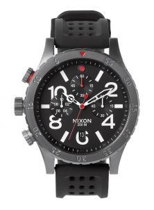 Zegarek Nixon 48-20 Chrono P Gunmetal/Black/Red A278 1426