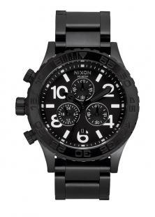 Zegarek Nixon 42-20 Chrono All Black A037 001