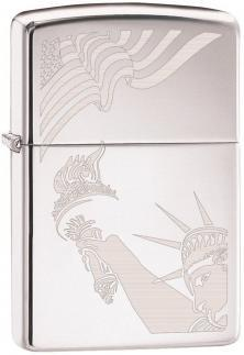 Zapalniczka Zippo Flag and Lady Liberty 2265