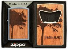 Zapalniczka Zippo Woodchuck and Bottle Opener 49066