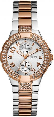 Zegarek Guess Prism Two Tone U13586L2