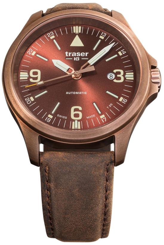 Zegarek Traser P67 Officer Automatic Bronze Brown 108073