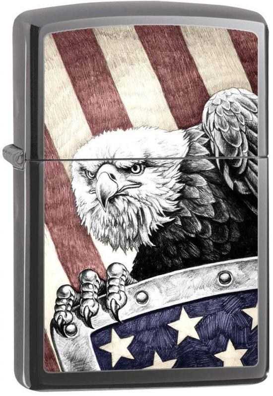 Zapalniczka Zippo Eagle With Shield 0010